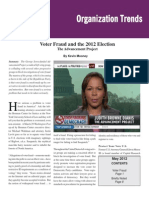 Voter Fraud and the 2012 Election The Advancement Project