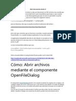 Abrir documentos desde c.docx