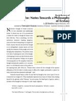 after nietzsch, philosophy of ecstasyMarsden Reviewed By Branson.pdf