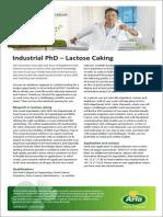 Industrial PhD - Lactose Caking Nr. Vium-Rennes IE 2550713