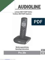 Audioline - Pro 20x Telefoon.pdf
