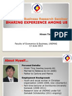 Sharing Own Experience.pptx