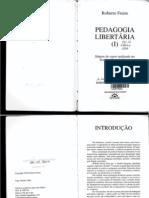 Pedagogia Libertária - Roberto Freire