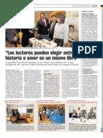 Nieves Herrero presentó su último libro en el teatro Liceo de Salamanca