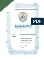 Introducción y Conclusión de BDD