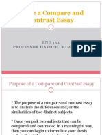 write a compare and contrast essay eng 153 november 14 2013