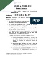 Tema 4 - Signos y Ritos Del Bautizo