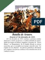 Batalla de Araure