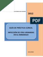 GUIA INFECCIÓN DE VÍAS URINARIAS, GUÍA DE PRÁCTICA CLÍNICA