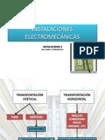 2.- INSTALACIONES ELECTROMECÁNICAS