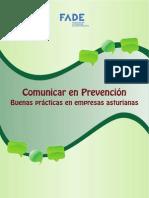 Comunicar en prevención