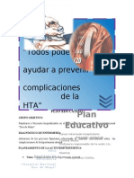 Plan Educativo de Hta