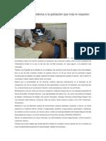 10/11/13 diariomarca Beneficia Telemedicina a la población que más lo requiere