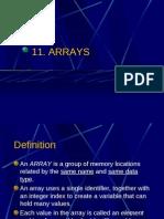 11 ES26 Lab - Arrays