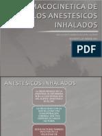 FarmacociNetica de Los Anestesicos Inhalados