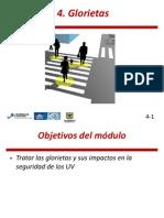 Modulo 4 del Curso de diseño de vías seguras para usuarios vulnerables