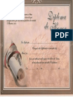 Diploma de Honor Hermanas