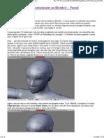 Mapeamento UV e Texturização
