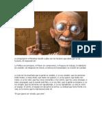 Le preguntaron a Mahatma Gandhi cuáles son los factores que destruyen al ser humano
