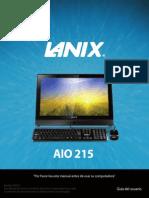 Manual AIO 215 v5