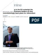 Costs of staying in the EU outweigh the benefits, warn business leaders as they overwhelmingly back plans for referendum _ Mail Online.pdf