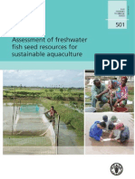 FAO-Assessment of Freshwater Fish Seed Resources for Sistainable Aquaculture