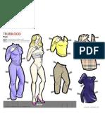TB-Pam paper doll