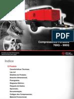 Compressores de Ar Diesel Portatil