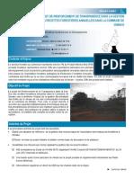 PROJET DE RENFORCEMENT DE TRANSPARENCE DANS LA GESTION DES RECETTES FORESTIERES ANNUELLES DANS LA COMMUNE DE                 DIMAKO