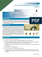 PROJET D'OPTIMISATION DES RENDEMENTS DE L'HOPITAL CENTRAL DE MAROUA