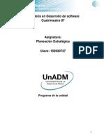 Unidad 2. Establecimiento de Una Planeacion Estrategica