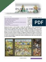 Jardin de Las Delicias Analisis