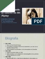 Mr Ripley y Patricia-highsmith
