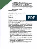 Surat Laporan BKD-1