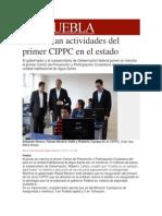 13-11-2013 Milenio.com - Comienzan Actividades Del Primer CIPPC en El Estado