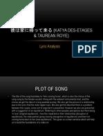 lyric analysis