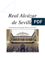 Cuaderno Informativo del alcázar de Sevilla