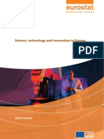 Eurostatistics-science-technology and Innovation in Europe-2008