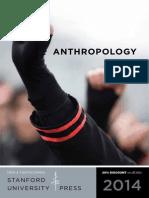 2014 Anthropology Catalog