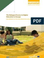 Eurostatistics-The Bologna Process in Higher Education-2009 Ed