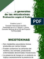 Aspectos generales de las micotoxinas