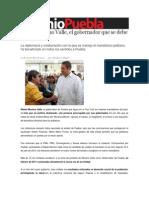 12-11-2013 Sexenio Puebla - Rafael Moreno Valle, El Gobernador Que Se Debe a Puebla