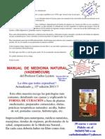 Manual de Medicina Natural Vademecum