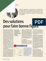 2007 Des Solutions Pour Faire Bonne Figure