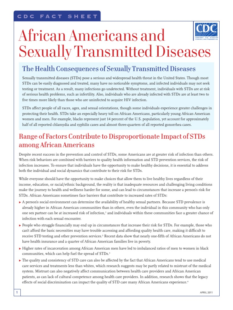 Sexually transmitted diseases social factors affecting