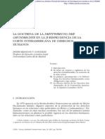 Drittwirkung + Jurisprudencia de La Corte Interamericana