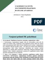 DK Naujoves Ir Nauja Teismu Praktika