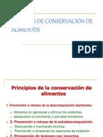 2. MÉTODOS DE CONSERVACIÓN DE ALIMENTOS