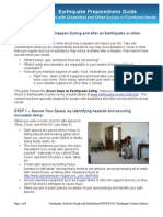 ShakeOut Earthquake Guide Disabilities AFN