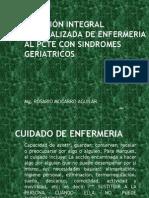 ATENCIÓN INTEGRAL ESPECIALIZADA DE ENFERMERIA AL PCTE CON